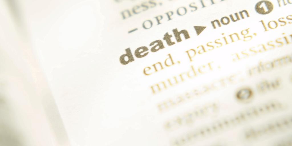 death definition