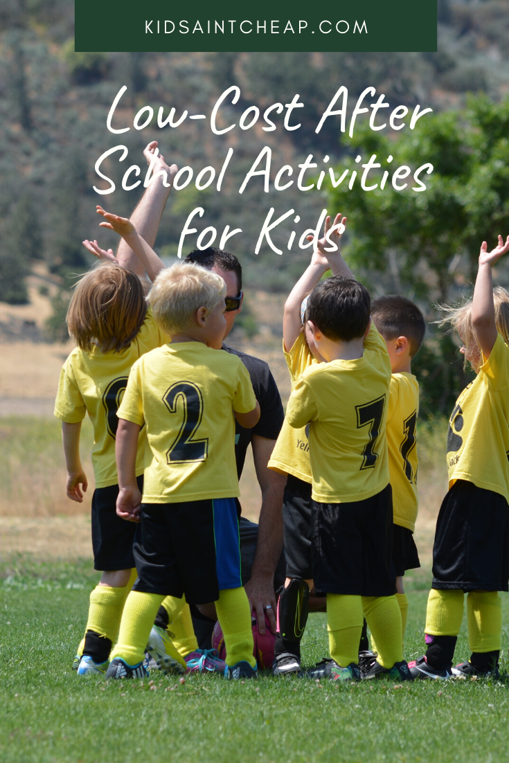 Low-Cost After School Activities for Kids