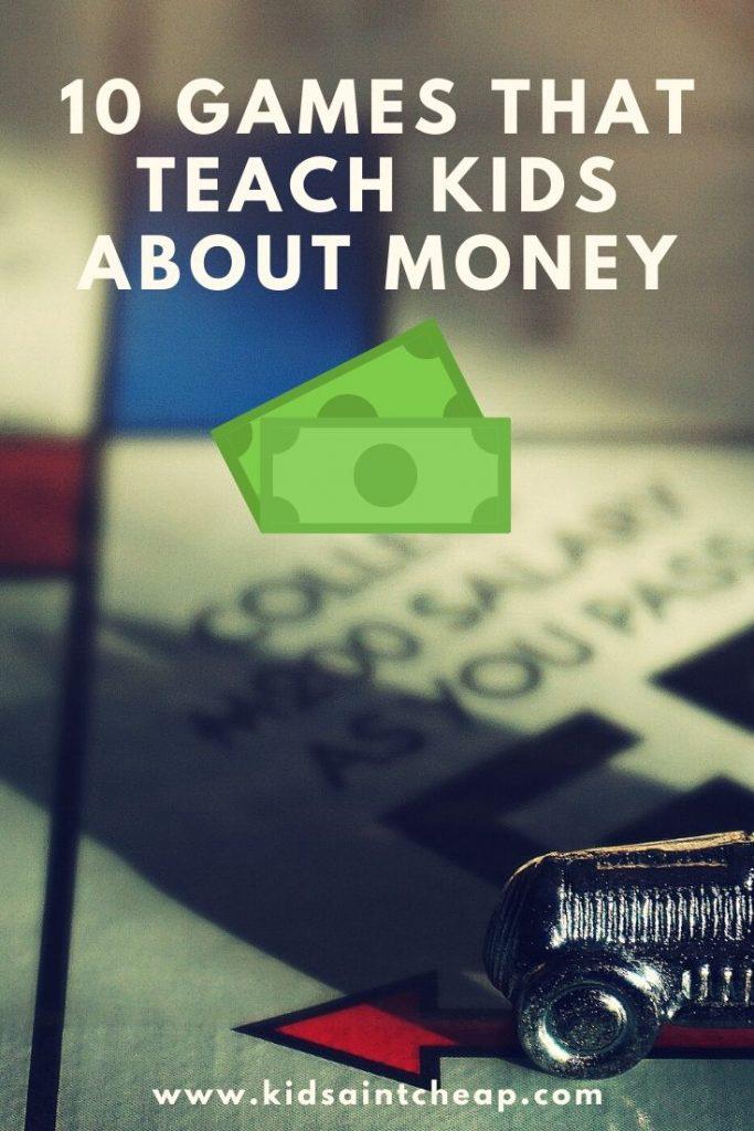 Games that teach kids about money