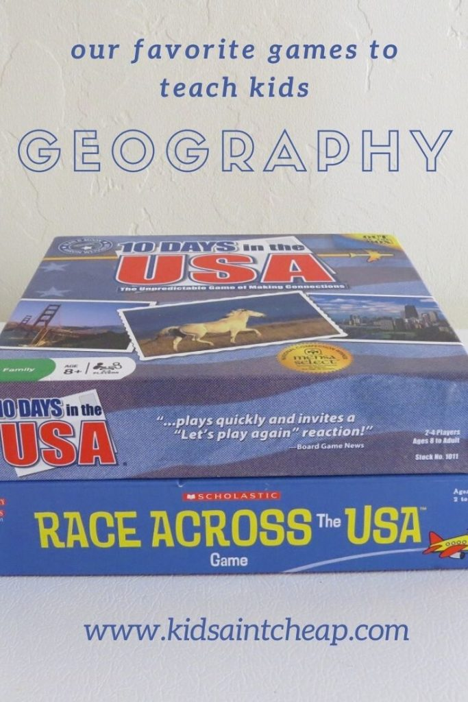 Our Favorite Games to Teach Children Geography