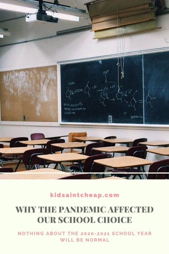 Why The Pandemic Affected Our School Choice