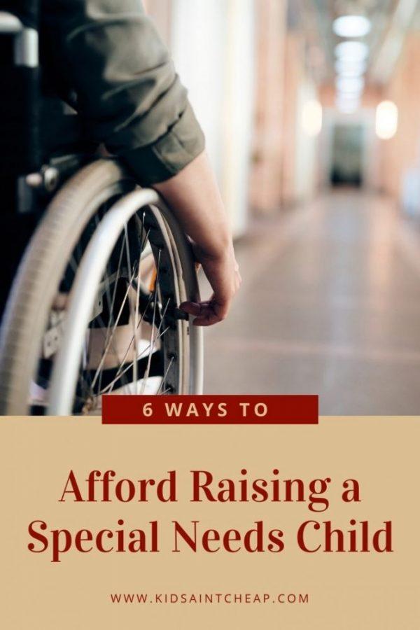 Afford Raising a Special Needs Child
