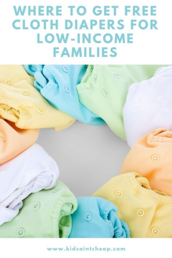 Free Cloth Diapers for Low-Income Families
