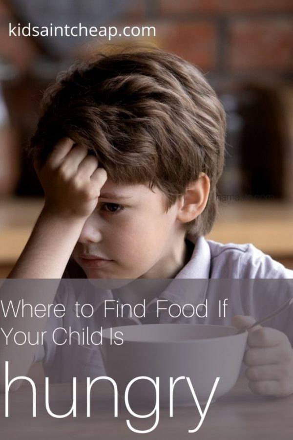 Find Food If Your Child Is Hungry