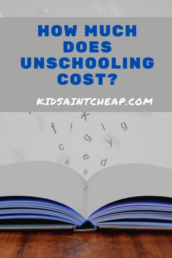 Unschooling Costs